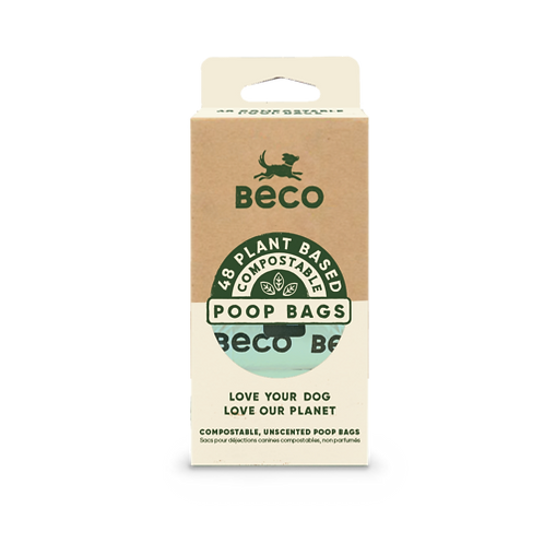 Home Compostable Unscented Dog Poo Bags