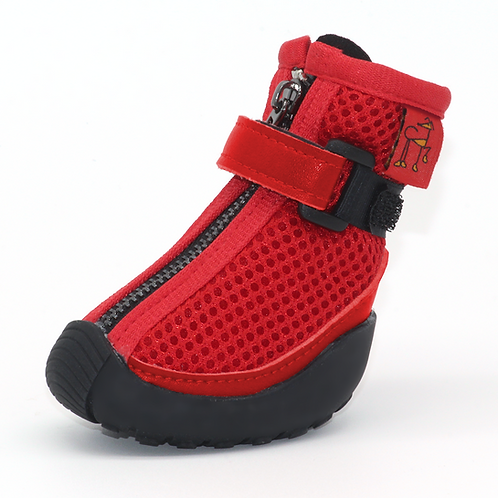 Greyhound Whippet Boots V3 Hunnyboots Red