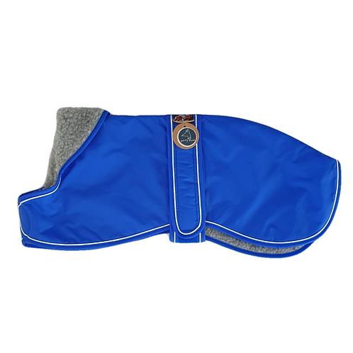 Whippet winter coat blue