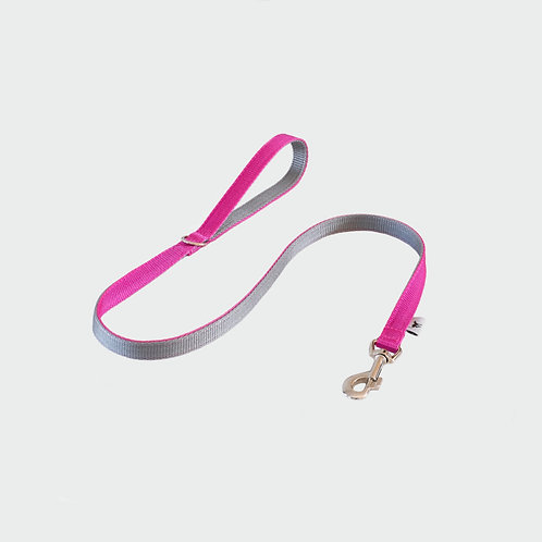 Pink Dog Lead Pointy Faces UK