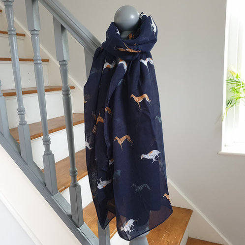 greyhound scarf