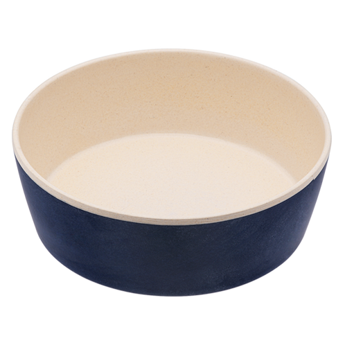 Classic Bamboo Bowl - Midnight Blue