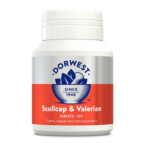 Scullcap and Valerian for Dogs