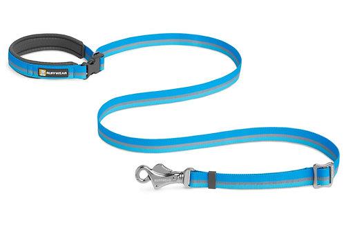 Ruffwear Crag Reflective Dog Lead in Blue Dusk