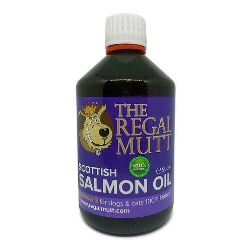 Salmon Oil for Dogs 500ml