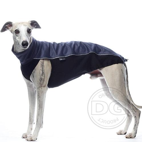 Whippet DG Dog Gear Soft Shell Jacket Blue