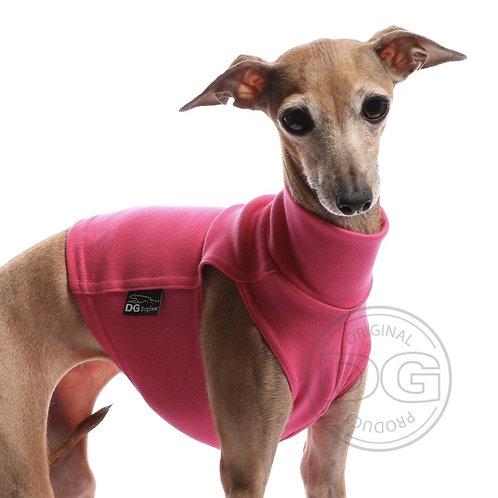 Sighthound Under Vest in Cranberry Pink