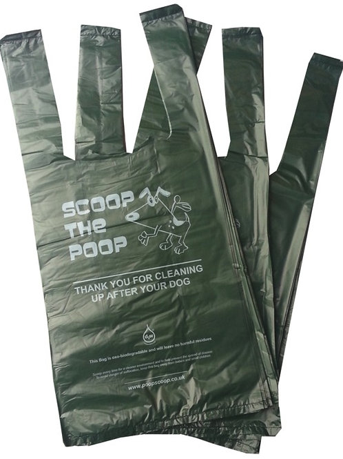 Dog Biodegradable Eco-friendly Poo Bags