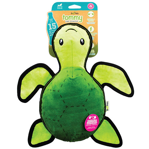 Pointy Faces Dog Toys for Greyhounds. Tommy the Turtle.