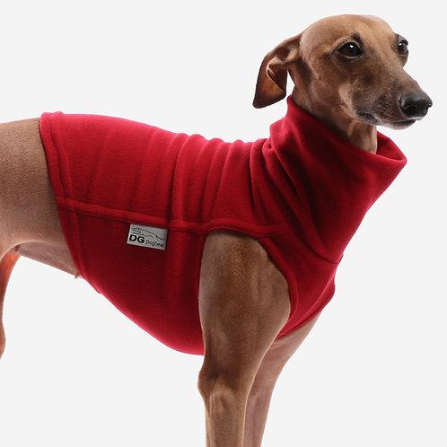 Whippet Fleece Jumper Red
