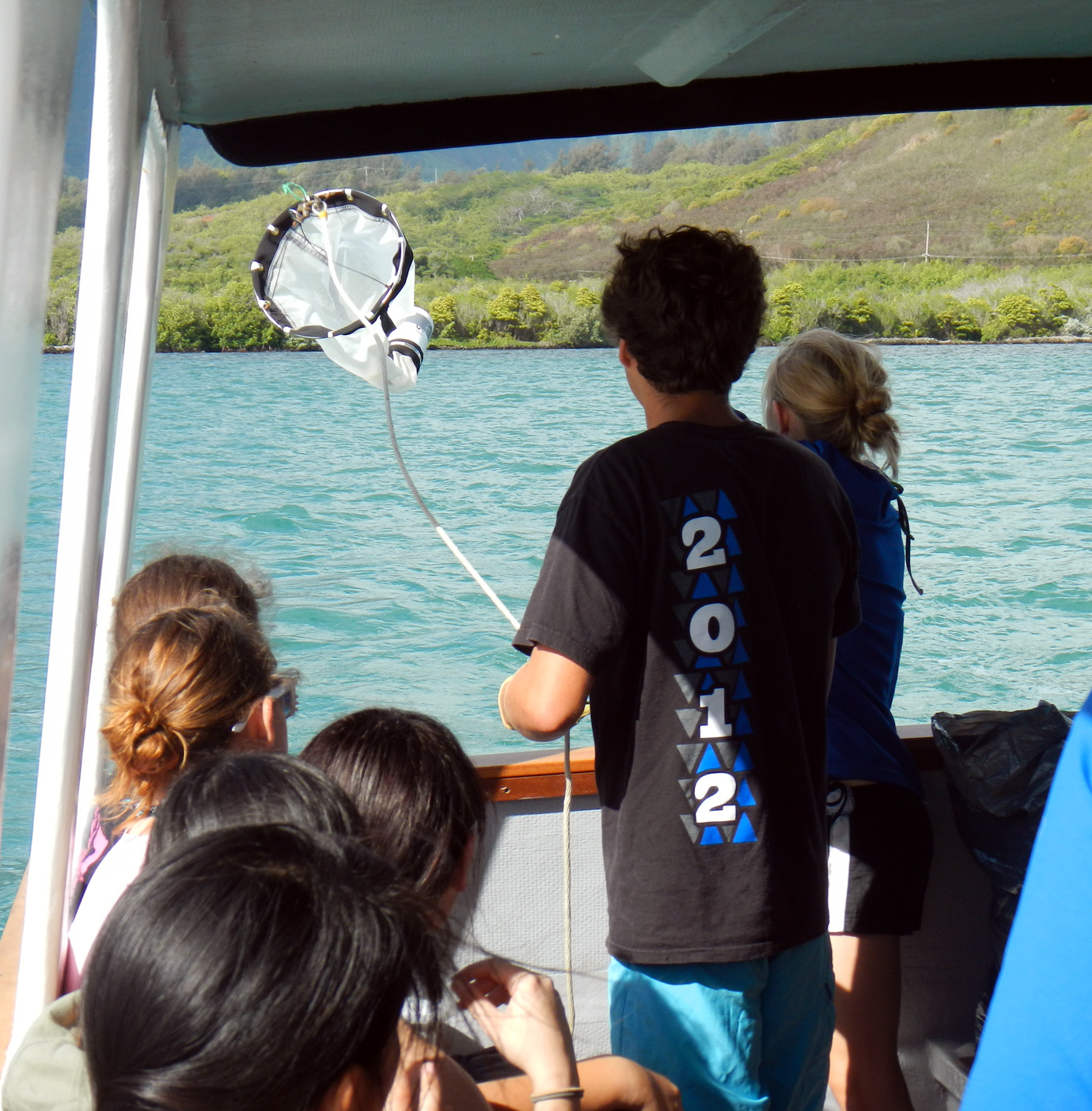 Thowing out the Plankton Net (2)