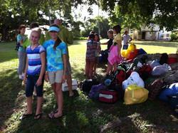 Girlscouts camping