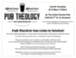 Pub Theology Flyer - updated July 2019.j