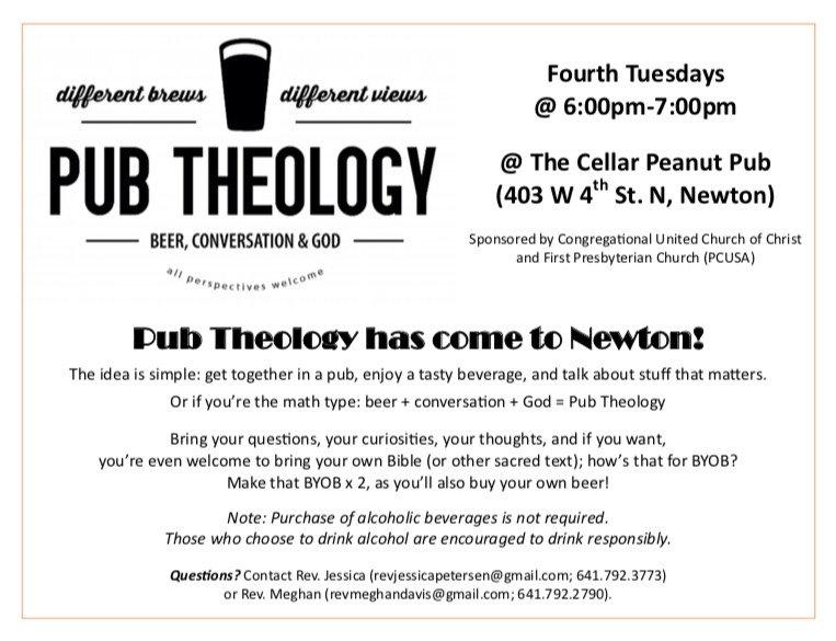 Pub Theology Flyer - updated July 2019.j