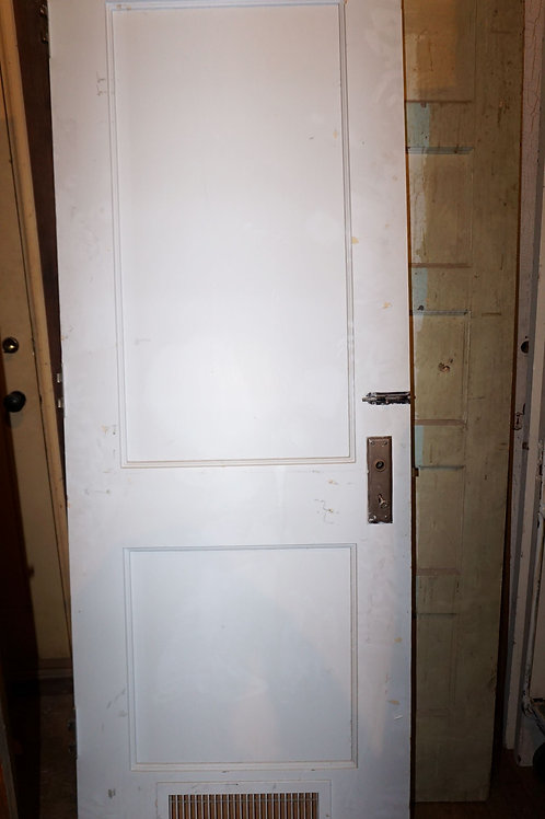 2-Panel Door With Vent
