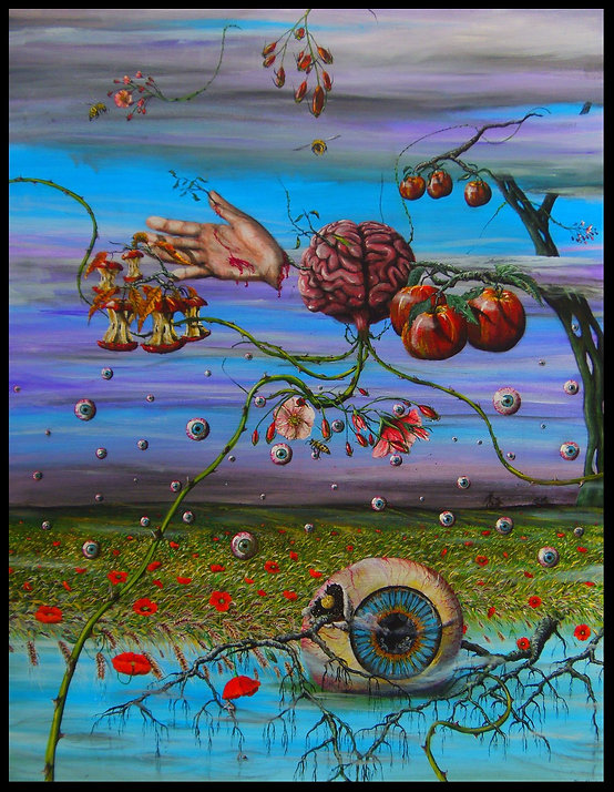 surrealism painting expressionism artist marco edelenbos contemporary art gallery