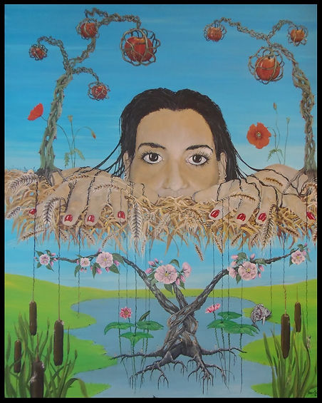 surrealism painting expressionism artist marco edelenbos contemporary art gallery harvesteria