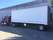 2-Axle Tractor w/28' Refrigerated Van