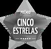 Logotipo cinco estrelas