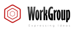 Logo com frase workgroup