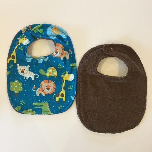 Infant Bib-Rear Snap