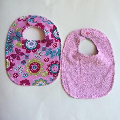 Infant Bib-Rear Snap