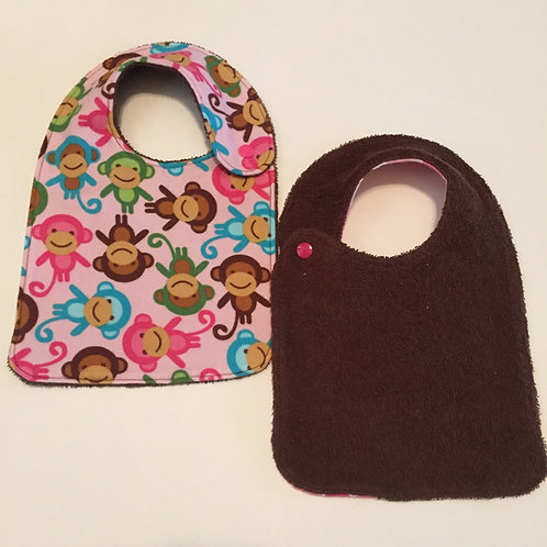 Infant Bib-Side Snap
