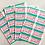 Thumbnail: BORAX Sticker【40 stickers】