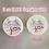 """Thumbnail: Circle Small 1.6""""【24 stickers】"""