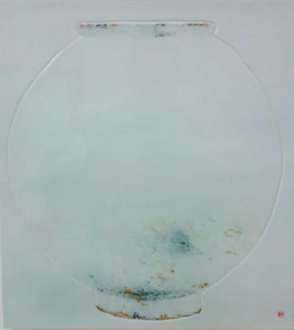 Oh-Man-Chul-Rumination--Moon-Jar-40.5x44