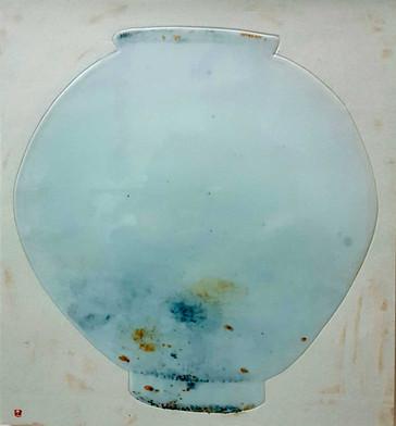 Oh-Man-Chul-Rumination---Moon-Jar-40.5x4