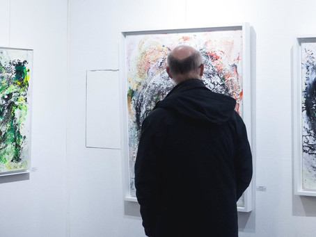 "Vernissage de l'exposition ""Sans Forme"""
