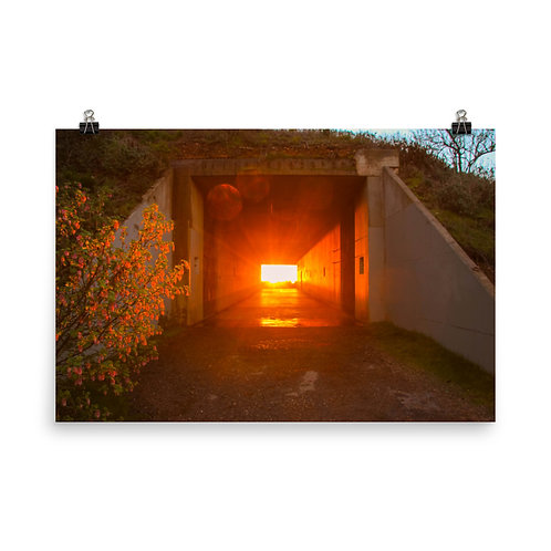 Tunnel at Sunset