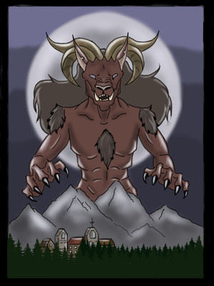 The beast of the mountain