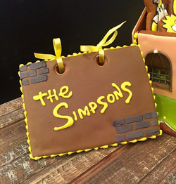 Simpsons cookie house