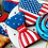 Thumbnail: A set of six 4th of July cookies (Beginners)