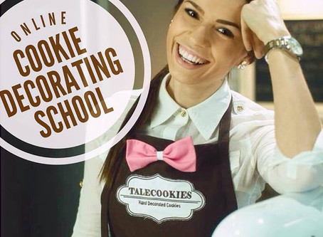 My online cookie decorating school! Opening on 03/17/2018
