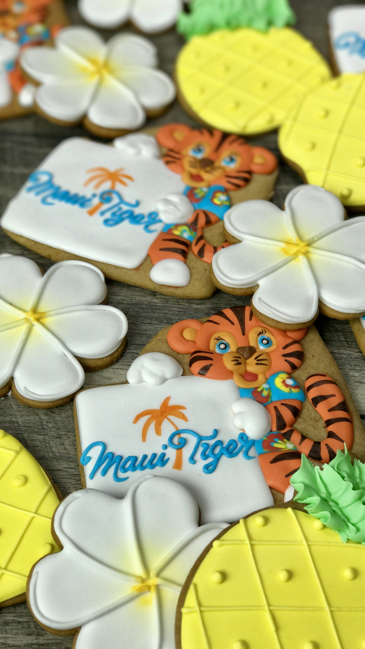 Corporate cookie set