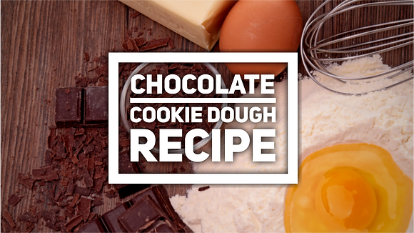 Chocolate cookie dough recipe
