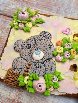 Teddy bear cookie