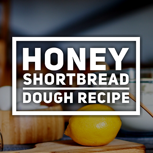 Honey shortbread dough recipe