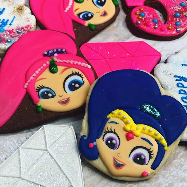 Shimmer and Shine cookie