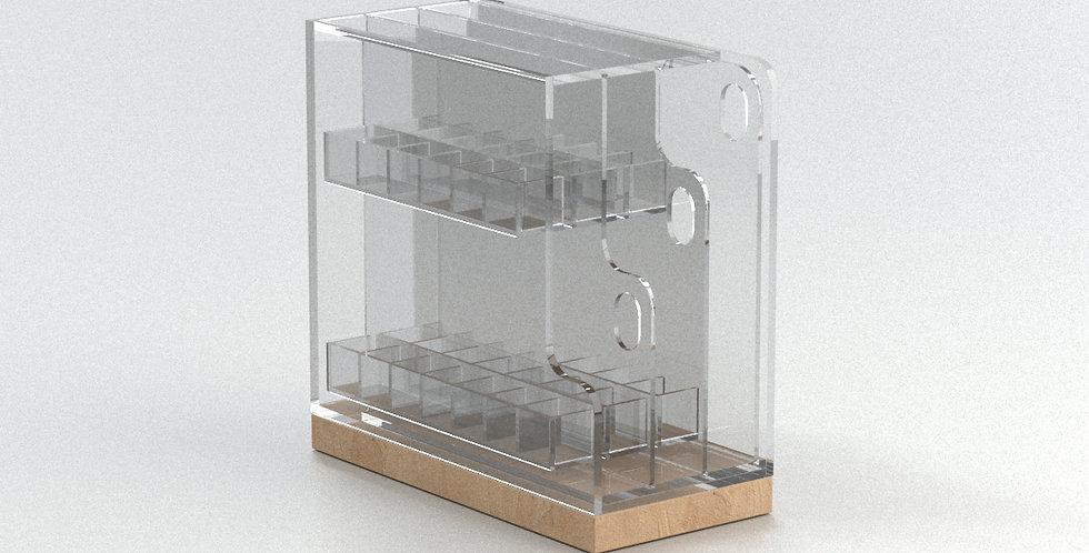 Design acrylic pullout cosmetic organizer