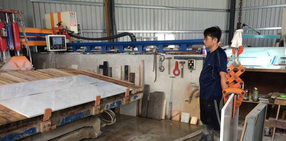 Marble Stone Working Machine