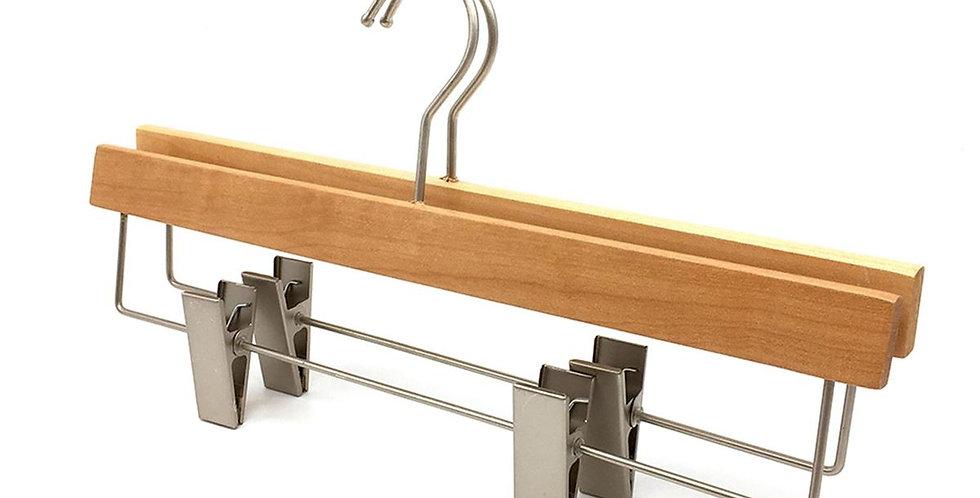 Wooden Dress & Pants Clip Hanger / WH-033AO Origin