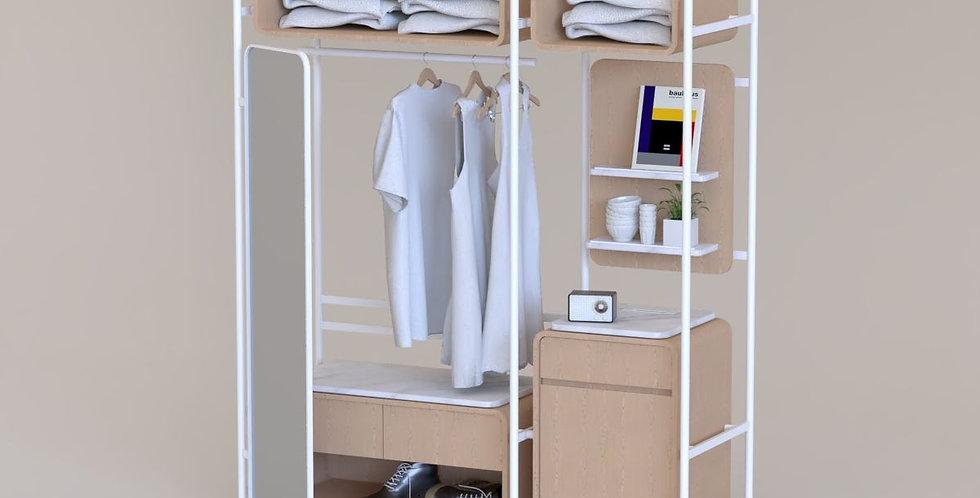 HGW-010-A, Hotel Guestroom Wardrobe
