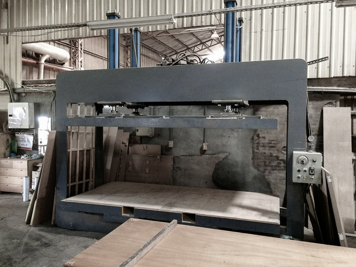 Wood Working - Plywood Compression Machi
