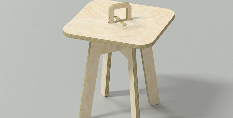 Chic Taiwan Original Design Coffee Side Table - Wooden