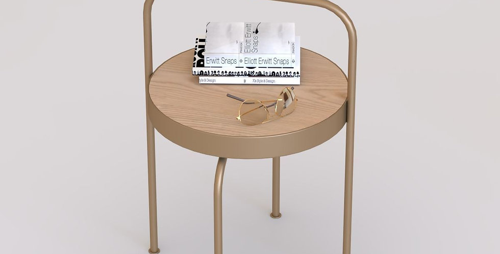 Hotel Guestroom Side Table (S) / HGW-034-A