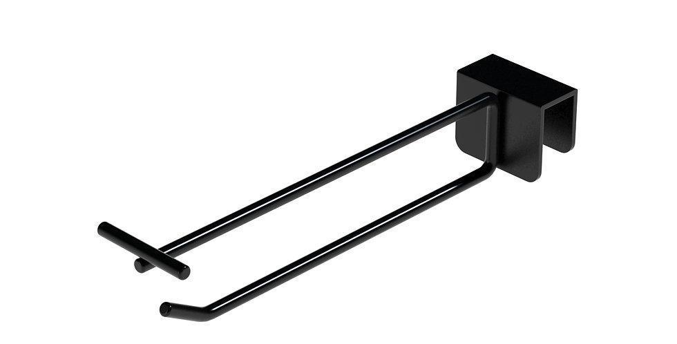 Double Wire T-Flip Display Hook (1) / Rectangular Bar / 1000 PCS